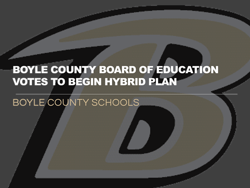 BOE votes to begin hybrid plan