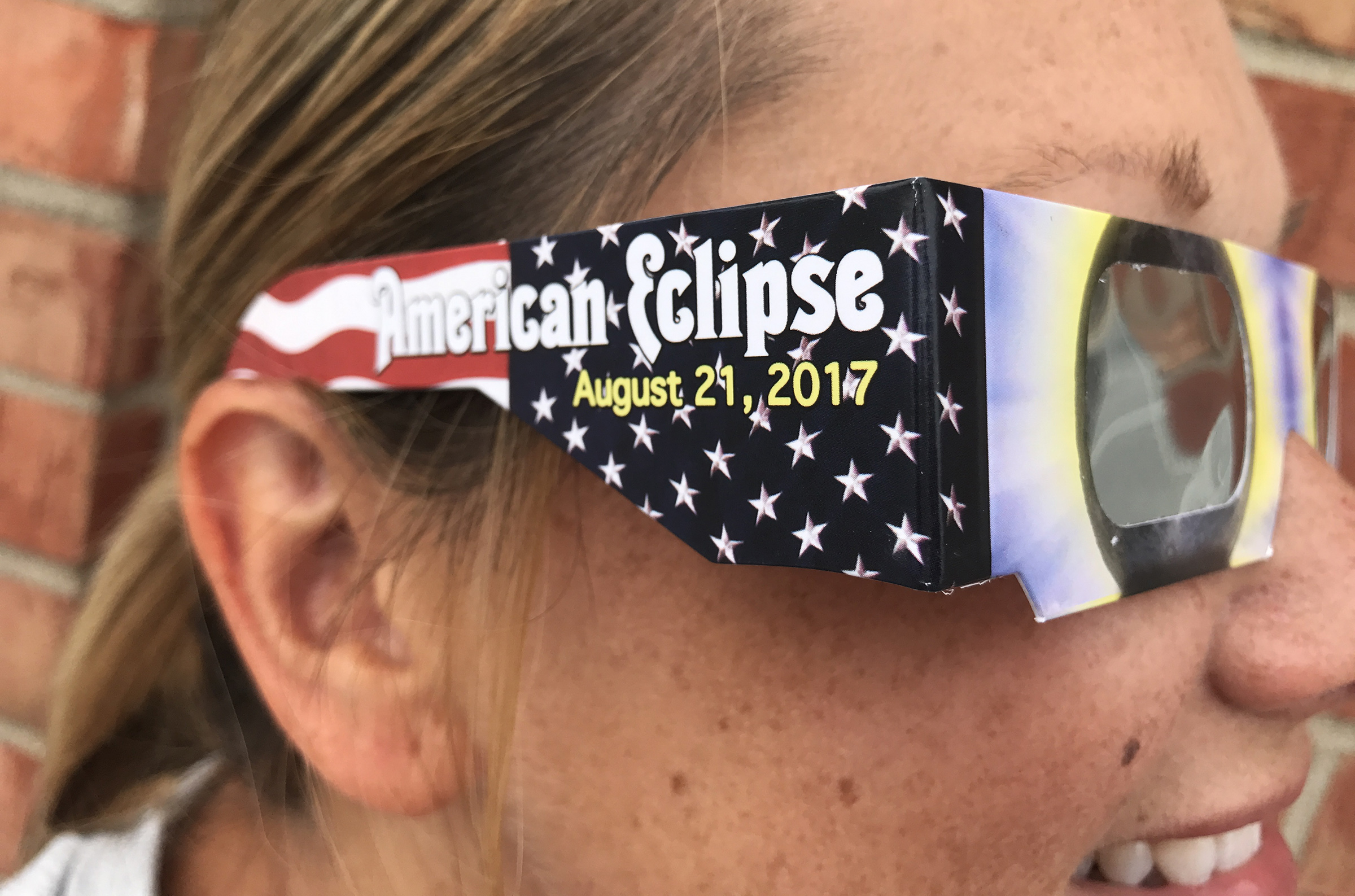 Certified eclipse glasses will be provided