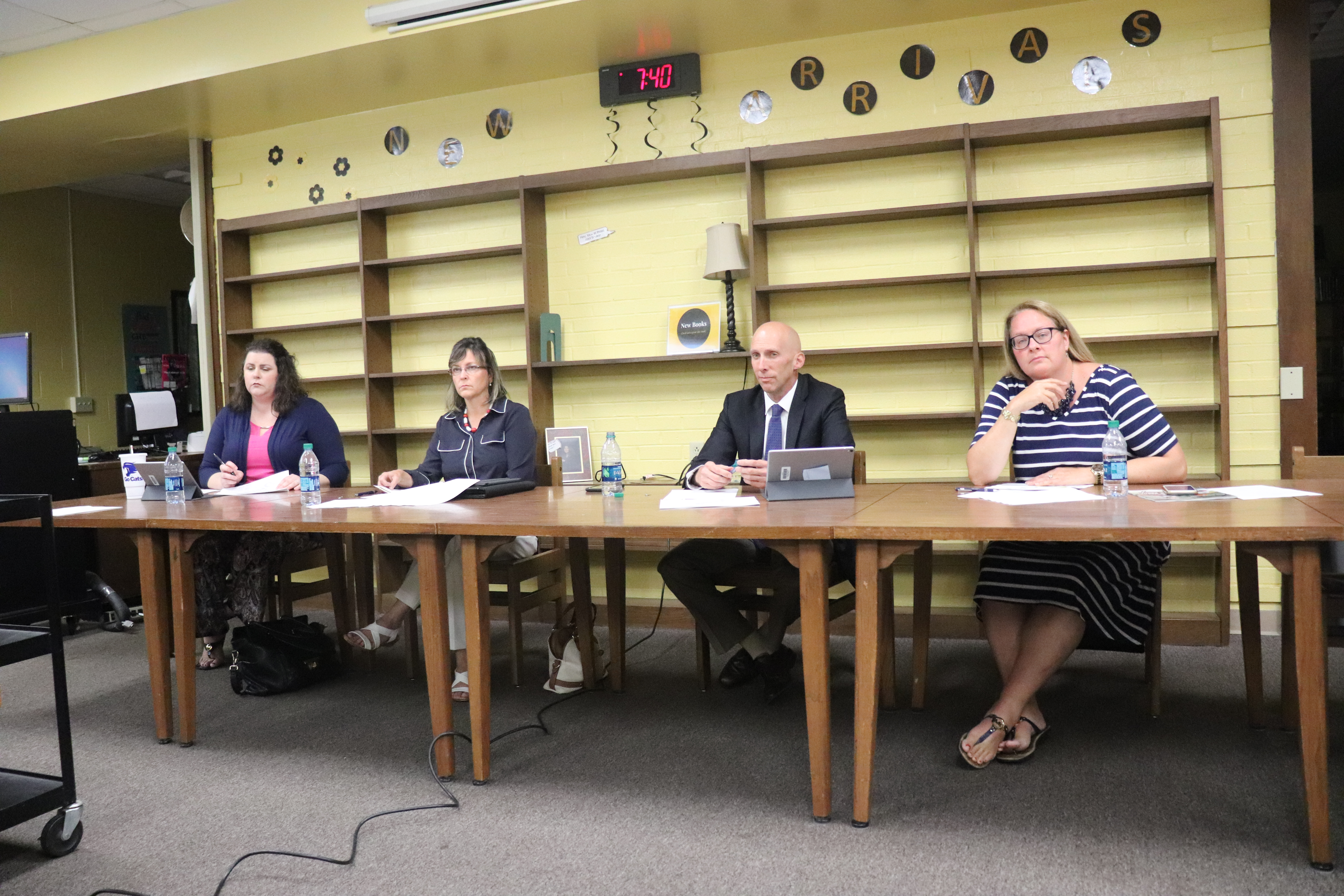 Board Hears Safety Plan