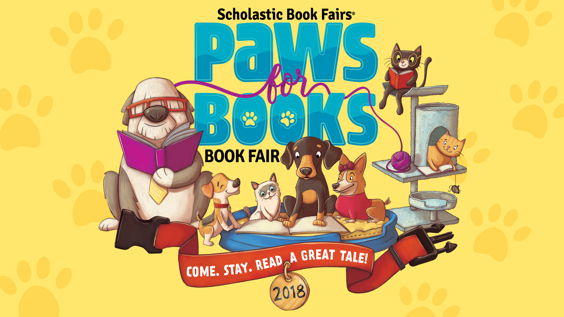 Winter Book Fair Logo